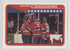 1990-91 O-Pee-Chee #346 Montreal Canadiens Team Hockey Card