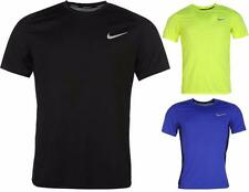 Nike Miler Running T Shirt Mens Dri-Fit Short Sleeve Jog Top ~All sizes S-XXL