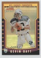 2000 Bowman Chrome Refractors #157 Kevin Daft Scottish Claymores (NFL Europe)