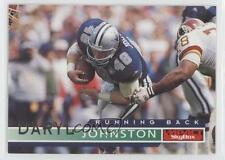 1995 Skybox Impact #38 Daryl Johnston Dallas Cowboys Football Card