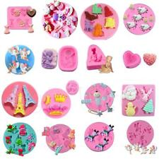 3D Silicone Fondant Mould Cake Decorating Cookies Muffin Chocolate Baking Mold