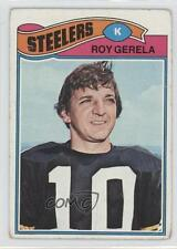 1977 Topps #421 Roy Gerela Pittsburgh Steelers Football Card