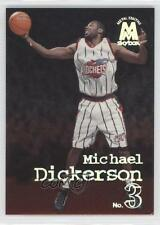 1998 Skybox Molten Metal 32 Michael Dickerson Houston Rockets RC Basketball Card