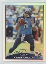 2009 Topps Chrome Refractor #TC61 Kerry Collins Tennessee Titans Football Card