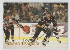 1997 Pinnacle Giant Eagle Mario's Moments #18 Mario Lemieux Pittsburgh Penguins