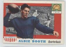 1955 Topps All American #86 Albie Booth Yale Bulldogs RC Rookie Football Card