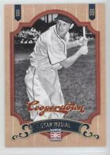 2012 Panini Cooperstown #92 Stan Musial St. Louis Cardinals Baseball Card