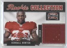 2011 Panini Threads Rookie Collection Materials #20 Kendall Hunter Football Card
