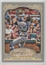2012 Topps Gypsy Queen #77 JP Arencibia Toronto Blue Jays J.P. Baseball Card