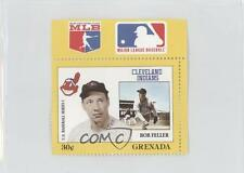 1988 Grenada Major League Baseball in Stamps US Series 1 #BOFE Bob Feller Card