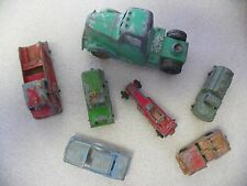Lot of 7 Vintage Tootsie Toy Cars