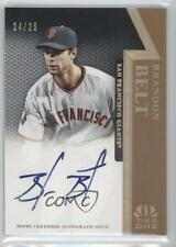2011 Topps Tier One #OR-BB Brandon Belt San Francisco Giants Auto Baseball Card