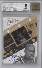 2012-13 Panini Signatures Film Red Autographed #120 Gary Payton BGS 8 Auto Card