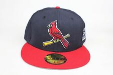 St. Louis Cardinal Navy / Red / 2006 World Series SP New Era 59Fifty Fitted Hat