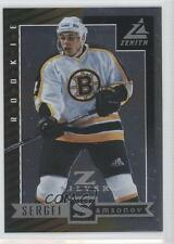 1997-98 Pinnacle Zenith Z-Silver #86 Sergei Samsonov Boston Bruins Hockey Card