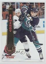 1994 Pinnacle #322 Anatoli Semenov Anaheim Ducks (Mighty of Anaheim) Hockey Card