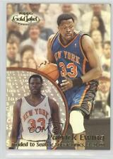 2000 Topps Gold Label Class 1 #65 Patrick Ewing New York Knicks Basketball Card