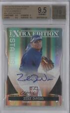 2011 Donruss Elite Extra Edition #54 Zeke DeVoss BGS 9.5 Chicago Cubs Auto Card