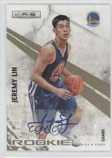 2010 Panini Rookies & Stars Gold Signatures Autographed 129 Jeremy Lin Auto Card