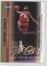 2003-04 Upper Deck Phenomenal Beginning #5 Lebron James Cleveland Cavaliers Card