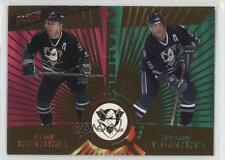 1997-98 Pacific Dynagon #135 Paul Kariya Teemu Selanne Hockey Card
