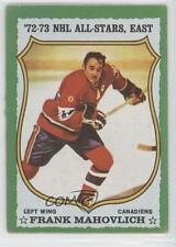1973-74 Topps #40 Frank Mahovlich Montreal Canadiens Hockey Card