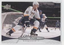 2011-12 Upper Deck #353 Nick Spaling Nashville Predators Hockey Card