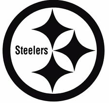 Pittsburgh Steelers Football Decal Window Sticker Multiple colors & sizes NFL #