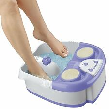 Foot Spa Massaging Bubbles Relaxation Heat Warm Water Spa Pedicure Exfoliation