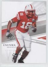 2014 SP Authentic #92 Quincy Enunwa Nebraska Cornhuskers Rookie Football Card