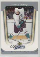 2005-06 Upper Deck MVP 415 Corey Perry Anaheim Ducks (Mighty of Anaheim) RC Card