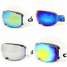 Snowboard Snowmobile Ski Goggles With Magnet Quick Lens-changing System Anti-fog
