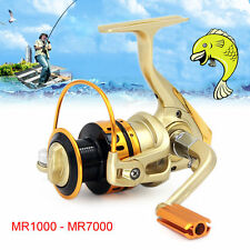High Speed  10 BB Ball Bearing Metal Spinning Reels Sea Saltwater Fishing Reel