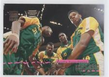 1993-94 Topps Stadium Club Super Teams Members Only #25 Seattle SuperSonics Team