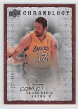2007-08 Upper Deck Chronology #94 Vlade Divac Los Angeles Lakers Basketball Card