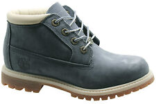 Timberland AF Nellie Chukka Waterproof Womens Boots Blue Leather 8334B T1