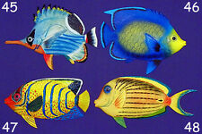 "Tropical Fish Wall Plaque 6""X4""~Nautical Beach Sealife Decor~(54) Selections"