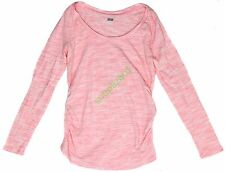 New OLD NAVY Maternity Solid L/S Ruche Top Women's NWOT Size XS S M L XL XXL