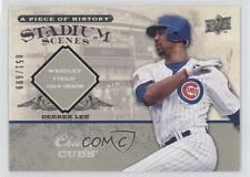 2008 Upper Deck A Piece of History Stadium Scenes #SS13 Derrek Lee Chicago Cubs