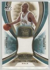 2005-06 SP Game Used Edition Authentic Fabrics Jersey Gold AF-JM Jamaal Magloire