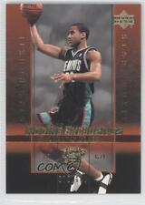 2003 Upper Deck Rookie Exclusives Gold #16 Dahntay Jones Memphis Grizzlies Card