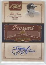 2011 Playoff Prime Cuts Prospect Signatures Century Gold JH Jake Hager Auto Card