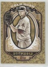 2012 Topps Wrapper Redemption Gold Rush #87 Clay Buchholz Boston Red Sox Card