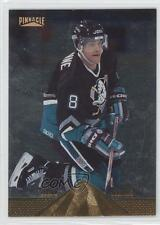 1996-97 Pinnacle Foil #155 Teemu Selanne Anaheim Ducks (Mighty of Anaheim) Card