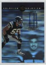 1996 SP Holoview #5 Junior Seau San Diego Chargers Football Card