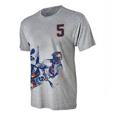 RB KTM RACING RYAN DUNGEY FIVE TEE SIZE SMALL-2XL GRAY URB165720X