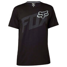 NEW FOX RACING MENS BLACK CONDENSED SS TECH TEE SHORT SLEEVE TEE S/S SHIRT