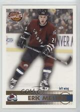2002-03 Pacific Complete #329 Eric Messier Colorado Avalanche Hockey Card