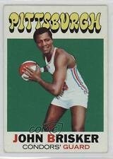 1971 Topps #180 John Brisker Pittsburgh Condors (ABA) RC Rookie Basketball Card