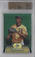 2012 Bowman Platinum Prospects Green Refractor BPP24 Starling Marte BGS 9.5 Card